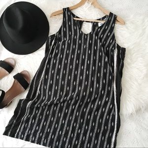 Old Navy Black and White Bohemian Dress